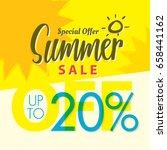 summer sale set v.2  20 percent ...   Shutterstock .eps vector #658441162