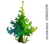 cartoon illustration of a... | Shutterstock .eps vector #658452298