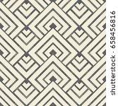 wicker seamless pattern on... | Shutterstock .eps vector #658456816