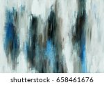 abstract hand made acrylic blue ...   Shutterstock . vector #658461676