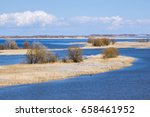 river volga russia   Shutterstock . vector #658461952