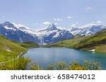 landscape of switzerland | Shutterstock . vector #658474012