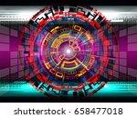 hud futuristic on technology...