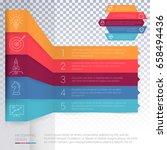 vector infographics layout step ... | Shutterstock .eps vector #658494436