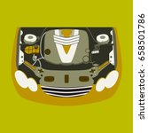 car motor   Shutterstock .eps vector #658501786
