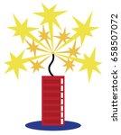 firecracker | Shutterstock .eps vector #658507072