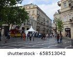 baku  azerbaijan   may 09  2017.... | Shutterstock . vector #658513042
