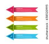 modern infographics template   Shutterstock .eps vector #658520995