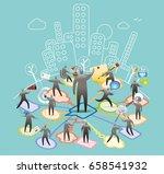 office commmnication | Shutterstock .eps vector #658541932