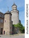 the renaissance castle idstein... | Shutterstock . vector #658542442