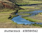 River In The Valley Of...