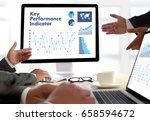 kpi acronym  key performance... | Shutterstock . vector #658594672