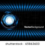 abstract technology background | Shutterstock .eps vector #65863603