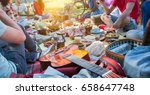 group of friends day out fun in ... | Shutterstock . vector #658647748