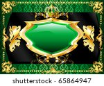 Raster version Illustration of poster or card templates. - stock photo