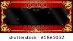 Raster version Illustration of banner templates. - stock photo