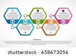 abstract options infographics... | Shutterstock .eps vector #658673056