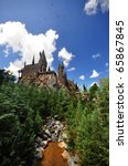 The Hogwarts Castle At The...