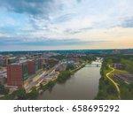 Iowa City Iowa Aerial Photography