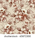 background. vector flower... | Shutterstock .eps vector #65872300
