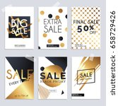sale website banners web... | Shutterstock .eps vector #658729426