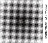 colorful halftone background ... | Shutterstock . vector #658790362