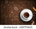 infograph background template... | Shutterstock .eps vector #658793665