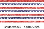 4th of july stars and stripes... | Shutterstock .eps vector #658809226