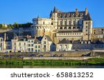 the royal chateau at amboise ... | Shutterstock . vector #658813252