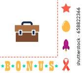suitcase icon illustration....