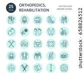 orthopedic  trauma...   Shutterstock .eps vector #658826512
