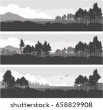 vector illustration set of... | Shutterstock .eps vector #658829908