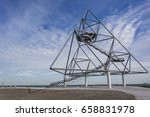 Small photo of Tetraeder on the former mine dump in Bottrop, Germany