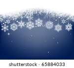 winter background with... | Shutterstock . vector #65884033