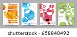 a4 format pages design | Shutterstock .eps vector #658840492
