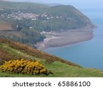 View Over Lynmouth  Exmoor