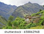 santa cruz trekking in the...   Shutterstock . vector #658862968