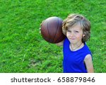 portrait of a cheerful young... | Shutterstock . vector #658879846