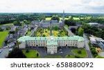 aerial view of maynooth college ... | Shutterstock . vector #658880092