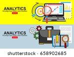 flat design illustration... | Shutterstock .eps vector #658902685