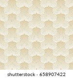 abstract geometric pattern with ... | Shutterstock .eps vector #658907422