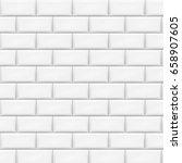 white tiles background. vector... | Shutterstock .eps vector #658907605