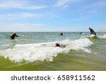 ouddorp  netherlands  june 11 ... | Shutterstock . vector #658911562