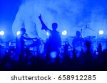 concert performance live show... | Shutterstock . vector #658912285