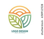nature logo | Shutterstock .eps vector #658912528