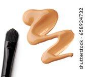 foundation color sample   make... | Shutterstock . vector #658924732