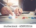 close up of business man hand... | Shutterstock . vector #658935316
