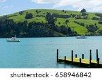 new zealand landscape | Shutterstock . vector #658946842