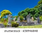 graveyard | Shutterstock . vector #658946848