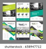 company flyer vector... | Shutterstock .eps vector #658947712
